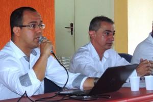 Arthur Dias Filho e Jorge Young, advogados do sindicato