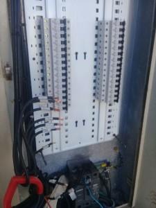 Boa parte da Instalação elétrica foi trocada