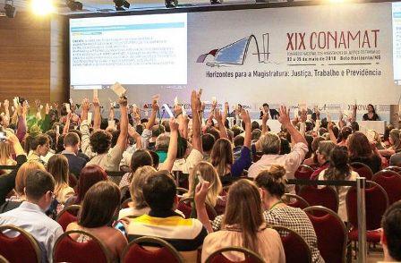 Associação dos Magistrados do Trabalho realizou encontro, em Belo Horizonte