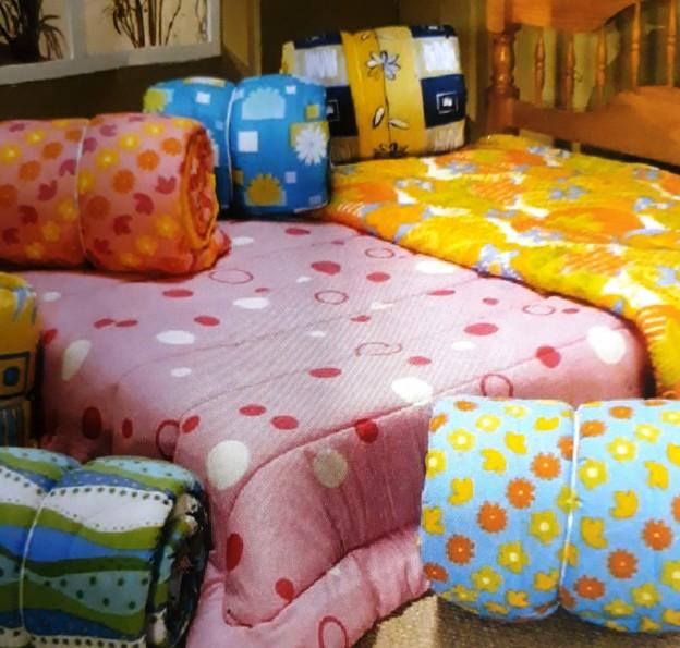 Mastersul vende edredons e outros produtos para o quarto