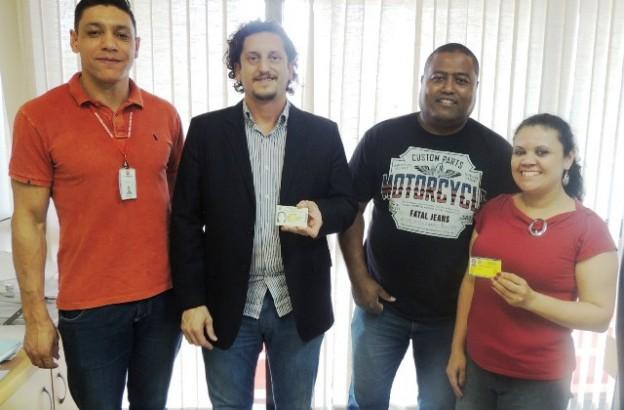 Elias, delegado Picarelli, Motta e Débora