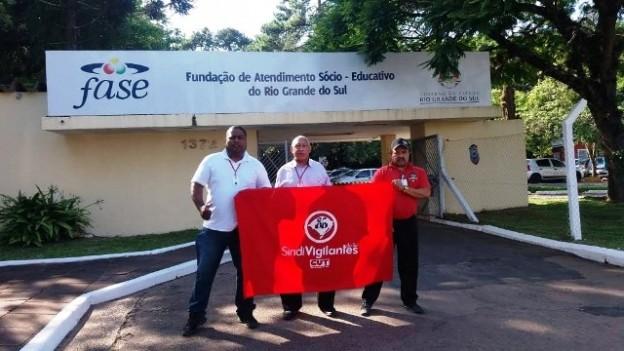 Motta, à esquerda, Pedroso e Adão confirmaram denúncias