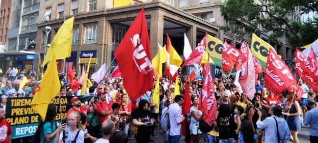 Manifestação contra a reforma da previdência 15022019 site