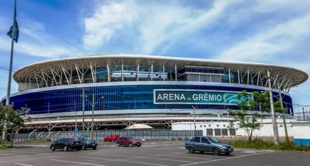 Arena do Grêmio, onde acontecerão as partidas