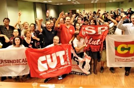 Centrais e movimentos sociais realizaram plenária de mobilização