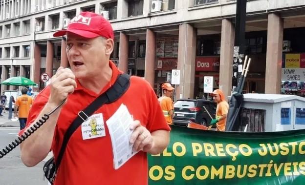 Presidente da CUT-RS, Amarildo Cenci