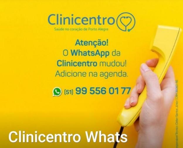 Clinicentro whatsapp