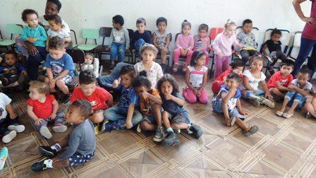 Creche Três Corações, na Vila Bom Jesus, tem sido uma das entidades beneficiadas